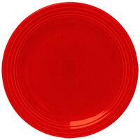 Homer Laughlin 467338 Fiesta Poppy 11 3/4 inch Chop Plate - 4 / Case