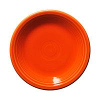 Homer Laughlin 464338 Fiesta Poppy 7 1/4 inch Salad Plate - 12 / Case