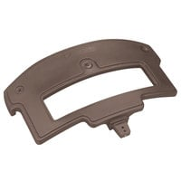 Carlisle 776001 Brown Sneeze Guard Post for Maximizer Food Bar