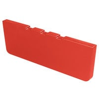 Carlisle 775405 Red Basin Divider for Maximizer Food Bar