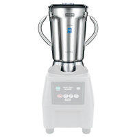 Waring 704587 1 Gallon Blender Container with Stainless Steel Lid