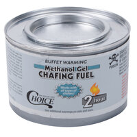 Choice Gel Chafing Fuel Methanol- 2 Hour- 72 / Case