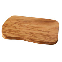 American Metalcraft OWB129 12 inch x 9 inch Olive Wood Entree Board