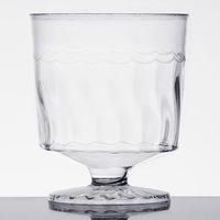 Fineline Flairware 2202 2 oz. Clear Plastic Wine Cup - 240/Case