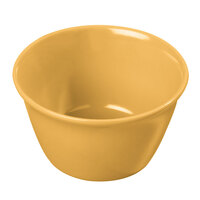 Carlisle 4354022 Dallas Ware 8 oz. Honey Yellow Bouillon Cup - 24/Case