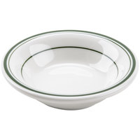 Tuxton TGB-032 Green Bay 3 oz. China Fruit / Monkey Dish - 36/Case