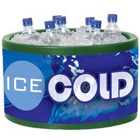 Green Icer 400 20 Qt. Round Countertop Merchandiser