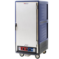 Metro C537-MFS-4-BU C5 3 Series Heated Holding and Proofing Cabinet with Solid Door - Blue