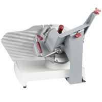 "Berkel X13E-PLUS 13"" Manual Gravity Feed Meat Slicer - 1/2 hp"