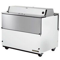 True TMC-49-DS 49 inch White Two Sided Milk Cooler