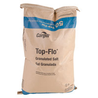 Cargill Top Flo Bulk Non-Iodized Table Salt - 50 lb.