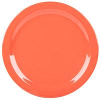 Carlisle 4350052 Dallas Ware 10 1/4 inch Sunset Orange Melamine Plate - 48 / Case