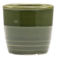 Homer Laughlin 13329391 Bosque Moss 2 5/8 inch Sugar Caddy / Sauce Cup - 36 / Case