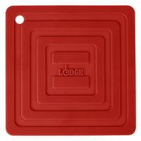 Lodge AS6S41 Red 6 inch x 6 inch Silicone Pot Holder