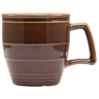 Homer Laughlin 13229392 Bosque Maple 14 oz. Mug - 12/Case