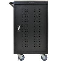 Luxor / H. Wilson LLTM30-B 30 Tablet / Chromebook Charging Cart - 26 inch x 20 1/4 inch x 36 3/4 inch