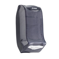 San Jamar H5003PTBK Interfold Venue Wall Mount Napkin Dispenser - Black Pearl