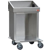 Steril-Sil E1-CRT24-2V Stainless Steel Silverware Dispensing Cart for Two E1 Inserts