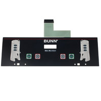 Bunn 34802.0004 Two Position Small / Medium Membrane Switch for Dual TF Brewers