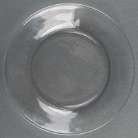 Libbey 1788491 Moderno 7 1/2 inch Glass Salad / Dessert Plate - 12 / Case