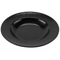 GET B-1609-BK Etchedware 16 oz. Textured Black Bowl - 12/Case