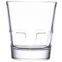 Libbey 15963 Optiva 12 oz. Stackable Double Rocks / Old Fashioned Glass - 12/Case