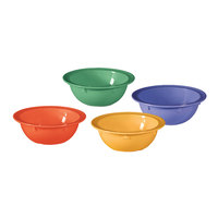 GET DN-902-MIX Creative Table Mardi Gras Assorted Colors 13 oz. Bowl - 48 / Case