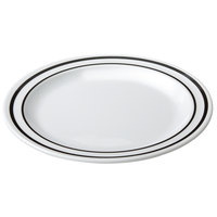 GET DP-906-AT Creative Table 6 1/2 inch Ascot Round Plate - 48/Case
