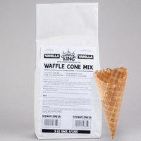 Carnival King Vanilla Waffle Cone Mix 5 lb. Bag