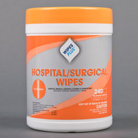 WipesPlus Hospital Surgical Wipes - 12 (240 Ct). Canisters / Case