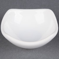 American Metalcraft SQSC40 Squound 4 oz. White Ceramic China Sauce Cup