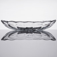 Anchor Hocking 561G 8.25 oz. Crystal Banana Split Dish   - 12/Case