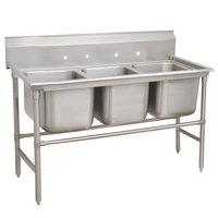 Advance Tabco 94-43-72 Spec Line Three Compartment Pot Sink - 86 inch
