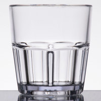 GET 9907-1-CL Bahama 7 oz. Clear Break-Resistant Plastic Tumbler - 72/Case