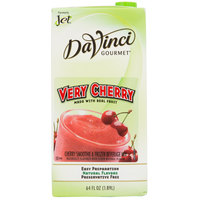 DaVinci Gourmet Very Cherry Real Fruit Smoothie Mix - 64 oz.
