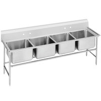 Advance Tabco 94-4-72 Spec Line Four Compartment Pot Sink - 81 inch