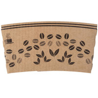 Choice 8 oz. Printed Coffee Cup Sleeve / Jacket / Clutch - 1200/Case