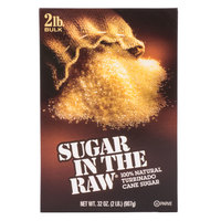 Sugar In The Raw 2 lb. Box - 12 / Case
