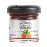 Crosse & Blackwell Coastal Strawberry Fruit Spread - (72) 1 oz. Glass Jars / Case