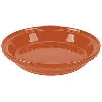 Homer Laughlin 487334 Fiesta Paprika 10 1/4 inch Deep Dish Pie Baker - 4 / Case