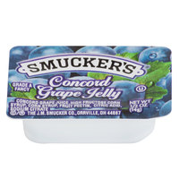Smucker's Concord Grape Jelly - (200) .5 oz. Portion Cups / Case