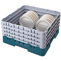Cambro CRP20910414 Teal Full Size PlateSafe Camrack 9-10 1/4 inch