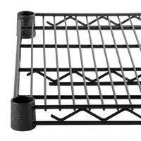 Regency 14 inch x 72 inch NSF Black Epoxy Wire Shelf