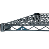 Metro 1436N-DSH Super Erecta Silver Hammertone Wire Shelf - 14 inch x 36 inch