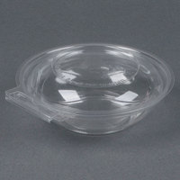 Par-Pak 5HGR008-TV Clear Tamper-Visible 8 oz. Round Container - 240 / Case