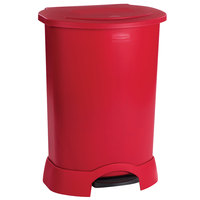 Rubbermaid FG614700 Red Step-On Container 30 Gallon (FG614700RED)