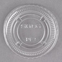 Dart Solo PL1N Small Clear Lid for Souffle / Portion Container - 100 / Pack