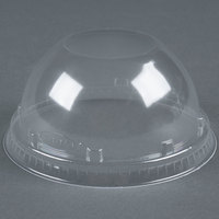 Dart Solo 16LCD Clear PET Dome Lid without Hole 1000 / Case