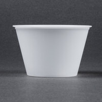 Dart Solo P400N 4 oz. Translucent Polystyrene Souffle / Portion Cup - 2500/Case