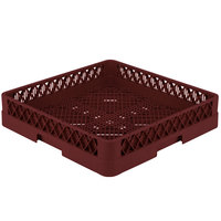 Vollrath TR2 Traex Full-Size Burgundy Flatware Rack